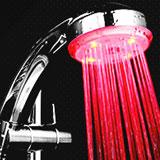 سر دوش LED حمام